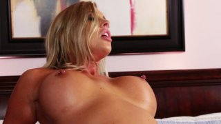 Samantha Saint gets her twat drilled mish thoroughly Preview Image