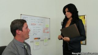 Sexited and hot secretary_Danica Dillon gets her juicy pussy licked Preview Image