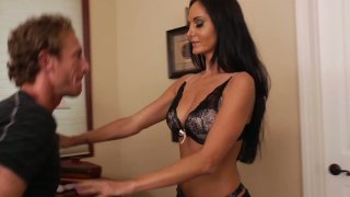 Brunette_hottie_Ava_Addams_demostrates_her_new_lingerie_making_her_boyfriend_hard Preview Image