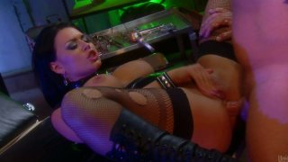 Dirty busty slut Eva Angelina takes it up her poor asshole Preview Image