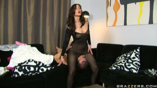 Lustful slut Simone Peach sucks a dick in a 69 position and gets rammed in_a doggy position Preview Image