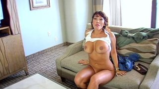 POV blowjob performed by sultry latina goddess Ava Devine Preview Image