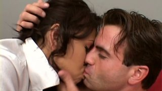 Slutty Veronica Lynn seduces a man and wants to try position 69 Preview Image