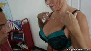Naughty teacher Darla Crane wants to give more than lesssons Preview Image