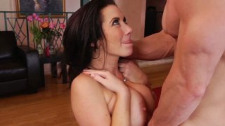 Rubbish slut Jayden Jaymes_sucks hard cock and gets her wet pussy licked dry Preview Image