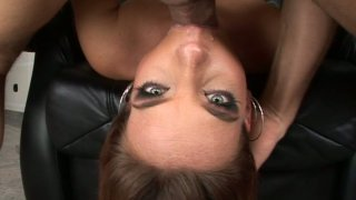 Flexible Evelyne Foxy gets a long dick drilling her throat Preview Image