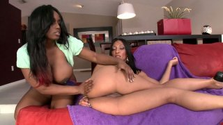 Kinky and hot cock suckers Jada Fire & Sophia Diaz give a stout deepthroat to two cocks Preview Image
