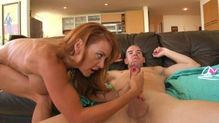 Mature ginger bitch Janet Mason gets doggyfucked harder than ever Preview Image