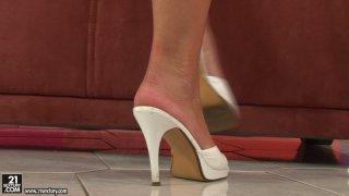 Elegant blonde hottie Sophie Moone_gets totally_naked on cam Preview Image