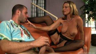 Milfy Jodi West seduces  cocky guy Ralph Long Preview Image