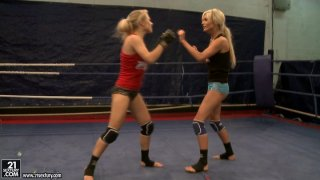 Michelle Moist and Laura_Crystal nude fight Preview Image