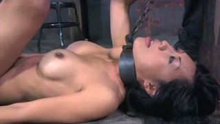 Hardcore stretching BDSM games with filthy Asian hoe Tia Ling Preview Image
