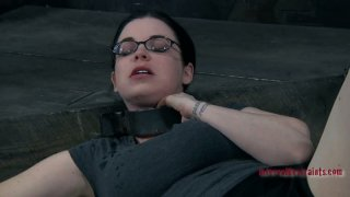 Four eyed slut_Sybil Hawthorne plays dirty BDSM games Preview Image