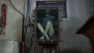 Locked in the glass box spoiled hoe Elise_Graves_goes under BDSM test Preview Image