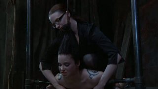 Pretty busty pale skin girl Sybil Hawthorne in_her_extreme lesbo BDSM game Preview Image