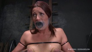 Tits pumping and suffocating BDSM game with filthy slut Cici Rhodes Preview Image