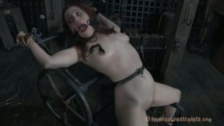 Body_arching_torture_chair_shocks_and_scares_Maggie_Mead Preview Image