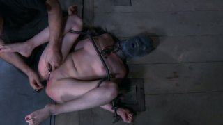 Brunette slut Nyssa Nevers is tortured in a gonzo BDSM video produced by Infernal Restraints Preview Image