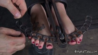 Hailey Young takes part in a hardcore_BDSM video produced by Infernal Restraints Preview Image