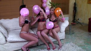 Gapolexa and Kissy give their girlfriend outstanding lesbie sex celebration Preview Image