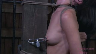 Dark side of satisfaction with submissive bondage whore Preview Image