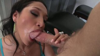 Thirsting for orgasm Mark Wood drills the asshole of spoiled Vicki Chase Preview Image