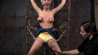 Tied_up_with_ropes_bitch_Cherry_Torn_is_treated_in_BDSM_way Preview Image