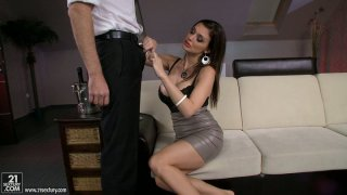 Aletta Ocean gets drunk and naughty for a steamy sex with bartender Preview Image