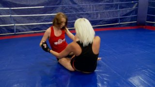 Severe wrestler Vanessa Videl gonna kick the whore's ass in the ring Preview Image