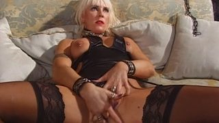 Horny stud joins his mastirbating sexy giel Mandi Preview Image