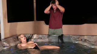 Bailey Brooke's Titty-Surprise in a tub! Preview Image