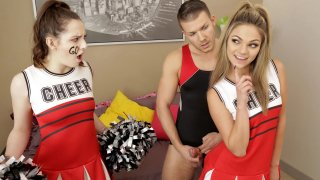 Teen cheerleader fucks her stepbrother Preview Image