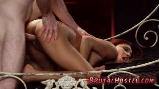 Splits and fucked bondage rough pain scream Her sexual abasement Preview Image