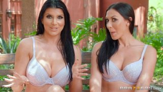 Day With A Pornstar: Romi And Rachel Preview Image