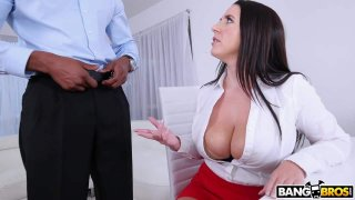 Busty Angela Takes A BBC In Her Ass Preview Image