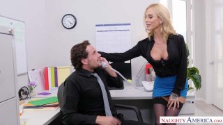 Get Laid And Getting Lei'd: Sarah Jessie Works It At Work Preview Image