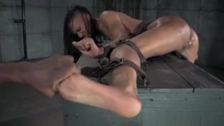 Ebony_Sub_Gets_Feet_Dominated_By_Master Preview Image