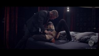 Hungarian blonde in black stockings is ready for deep penetration Preview Image