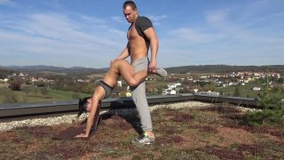 Merging Yoga_With_Sex - German Porn Preview Image