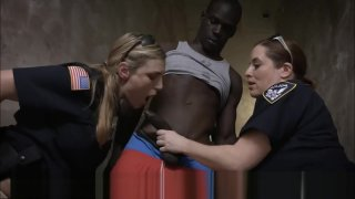 Dick Crazed Bisexual Milf Policewomen Take Advantage Of Arrested BBC Preview Image