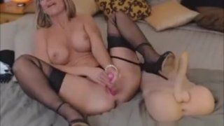 Beautiful Blonde Toys Private Webcam Show Preview Image