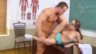 Stunning schoolgirl Remy LaCroix Likes It Preview Image