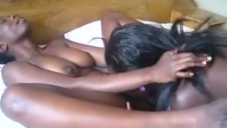 Lesbian_Hotties_From_Africa_Fuck_On_Bed Preview Image
