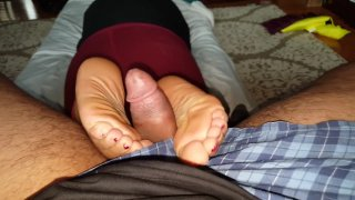 gf footjob Preview Image