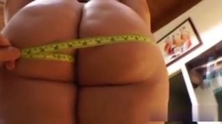 Plump Babe Gets_Big Ass Measured Preview Image