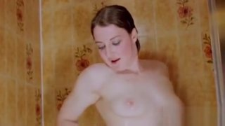 Sexy Brunette Bimbo Masturbates In The Shower Preview Image