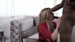 Goddess Julia_Ann stuffing pussy with young_BBC Preview Image