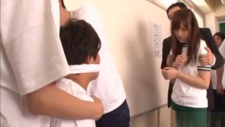 Schoolgirl Gets Down And Gives A Nice Warm Blow Job Preview Image