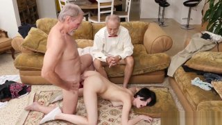 Most epic old man - Old man verified and girlfriend fucks girlfriends old dad and old man Preview Image