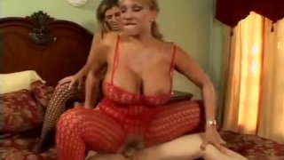 Threesome With Huge Boobs Milf And Sexy Maid Preview Image